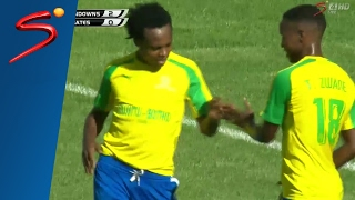 Mamelodi Sundowns 6-0 Orlando Pirates (crowd trouble affects feed)