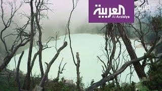 السياحة عبر العربية في جزيرة جافا الاندونيسية مع ليث بزاري