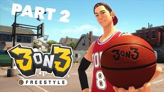 3 on 3 Freestyle Gameplay - Basketball video game - Free games to play on PS4 - Part 2