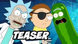 Rick and Morty Season 3 Finale and Season 4 Teaser Breakdown