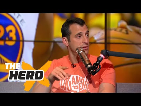 Doug Gottlieb on Westbrook s triple doubles Warriors John Wall and more THE HERD