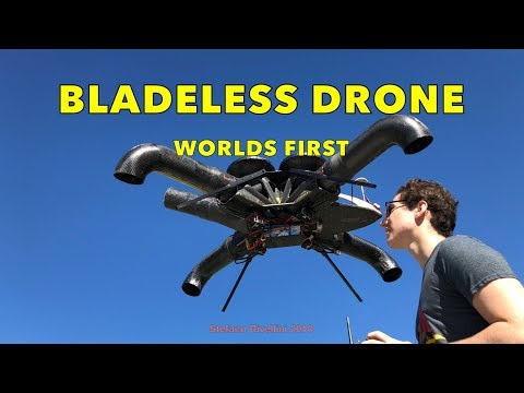 Bladeless Drone First Flight