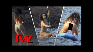 Rihanna's NOT HACKED Bikini Pics | TMZ