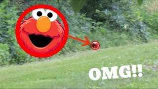 Elmo SPOTTED IN REAL LIFE!! *UNBELIEVABLE*