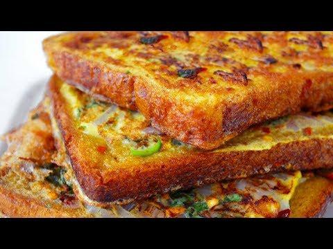 Xxx Mp4 Spicy Bread Omelette Recipe Bread Omelette Street Food 3gp Sex