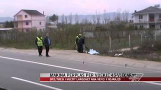 Aksident në Fushë Krujë, një viktimë - News, Lajme - Vizion Plus