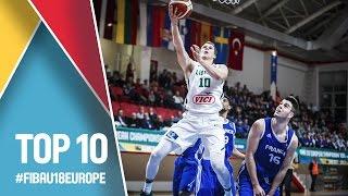 Top 10 Plays - FIBA U18 European Championship 2016