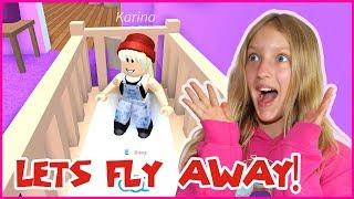 Baby Flies Away!