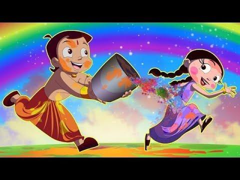 Chhota Bheem Rangon ki Bauchhaar Holi Video