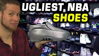 UGLIEST NBA SIGNATURE SHOES! HOW DID THEY GET SHOE DEALS?? NBA 2K17