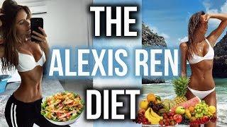 EATING LIKE ALEXIS REN FOR 1 WEEK!!