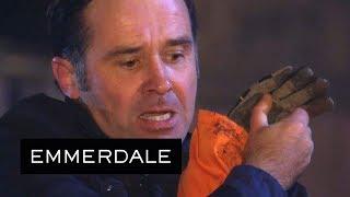 Emmerdale - Graham Fights Off Joe's Demolition Thugs!
