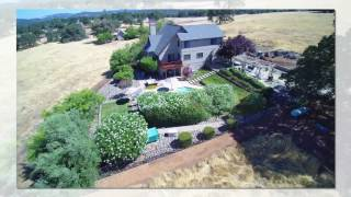 5550 Grazing Hill Rd, Shingle Springs Home for Sale Aerial Video
