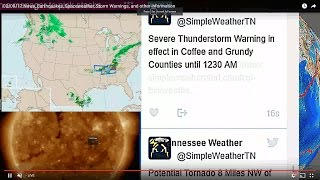 03/29/17 News, Earthquakes, Spaceweather, Storm Warnings, and other information