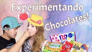 Experimentando chocolates edições limitadas!