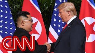 President Trump, Kim Jong Un meet in Singapore