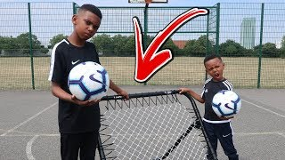 REBOUNDER VOLLEY FOOTBALL CHALLENGE VS BRO
