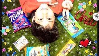 Luiz experimentando doces do BRASIL 2 ❤️