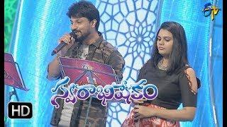 Paccha Bottesina  Song | Pranavi, Dhanunjay Performance | Swarabhishekam | 15th October 2017 | ETV