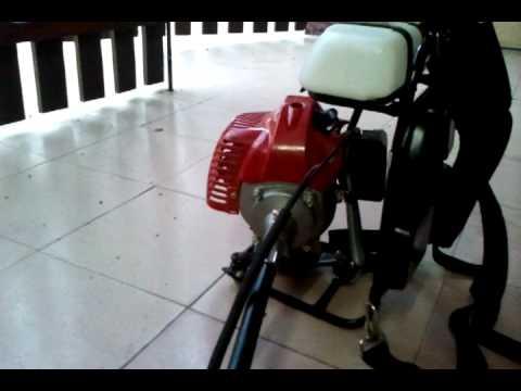 mesin rumput kawa moto