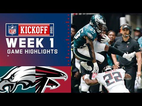 Eagles vs. Falcons Week 1 Highlights NFL 2021