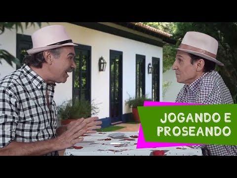 Jogando e proseando Nilton Pinto e Tom Carvalho A Dupla do Riso
