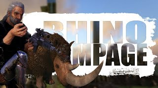 RHINO RAMPAGE (Official PVP Pirates) - Ark:survival Evolved - Ep.61