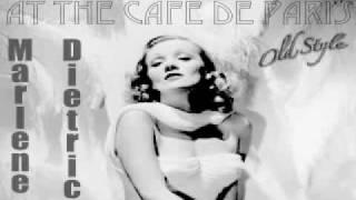 Lili Marlene Marlene Dietrich (English Version) At the Cafe De Paris 1954