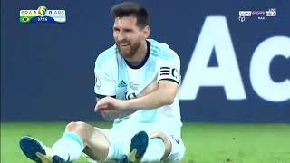 ملخص مباراة البرازيل والارجنتين 2 0   مباراة نااارية   ملخص كامل