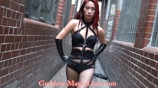 Goddess Maya Liyer - Elite London Asian Dominatrix | Mistress Part 2