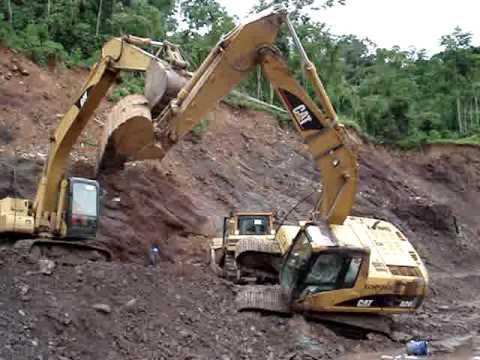 Excavadora Hidraulica Caida Nunca Antes Visto