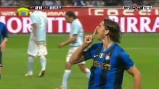 Zlatan Ibrahimovic | Inter 2-0 Lazio | 2008-09 Serie A Round 34
