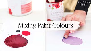 How To Mix Paint Colors - Color Mixing Tutorial - Tints, Tones, Shades and Hues