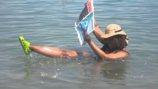 GloZell's Dead Sea Challenge - GloZell