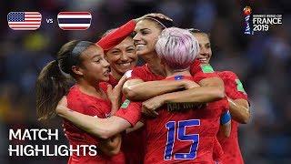 USA v Thailand - FIFA Women's World Cup France 2019™