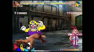 Wario And Hand vs. Klonoa And Flonne - Mugen Tag Team Tournament Championship Fight