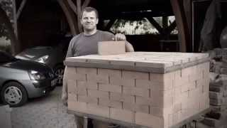 Brick Pizza Oven Portable wood fired