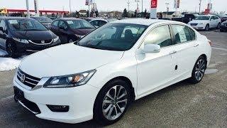 Download 2014 Honda Accord Sport Start up, Walkaround and Full Vehicle Tour 3Gp Mp4
