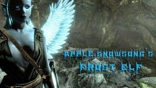 Skyrim Mod of the Day - Episode 49: Frost Elf Race/World of Spyro/Tensa Zangetsu Final Form Sword (Bleach)