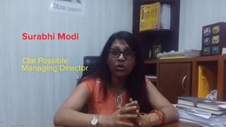 SURABHI MODI, MD-CLAT POSSIBLE, SPEAKS ABOUT GK GENIUS