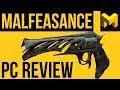 Download Video Download Destiny 2 Forsaken: Malfeasance PC Exotic Review 3GP MP4 FLV