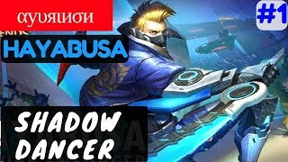 Shadow Dancer [Rank 6 Hayabusa] | αуυяιиσи` Hayabusa Gameplay and Build #1 Mobile Legends