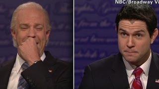 SNL spoofs Biden-Ryan debate