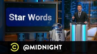 Star Words - R2-D2 Translations - @midnight with Chris Hardwick