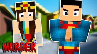 PROBLEMAS NA LIGA DA JUSTIÇA! - Minecraft (Murder Mystery)