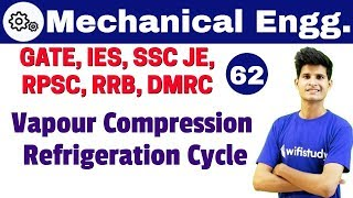 12:00 PM - Mechanical by Neeraj Sir | Vapour Compression Refrigeration Cycle