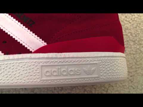University Red Adidas Dennis Busentiz Review On Feet