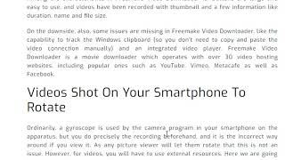 Free make video converter for Android  Download