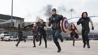 Captain America: Civil War - Team Cap on Filming Marvel's Most Amazing Fight Scene