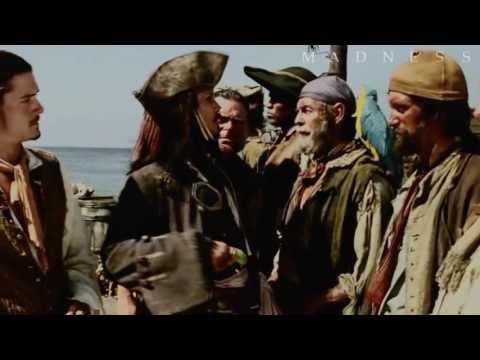 Jack Sparrow, William Turner || Rapunzel, Merida (live action/ Disney crossover)